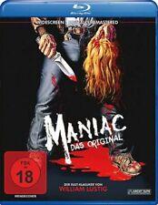 *FSK18* Blu-Ray Maniac Das Original neu 1980 William Lustig Meeting with Frank