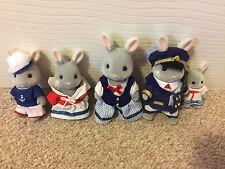 Sylvanian Families Sea breeze Sailor Rabbit Family