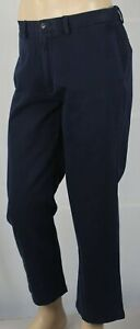 Polo Ralph Lauren Navy Blue Classic Fit Flat Front Pants NWT
