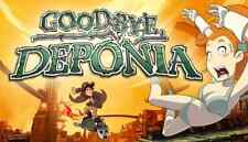 Goodbye Deponia PC game Steam Gift Region Free US Seller