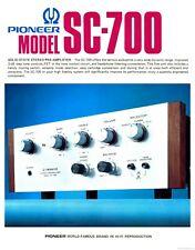 Vintage Pioneer SC-70 ( SC-700 ) Preamplifier VERY RARE!