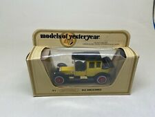MATCHBOX-MODELS OF YESTERYEAR-Y-7 1912 ROLLS ROYCE-YELLOW-LESNEY-1978-