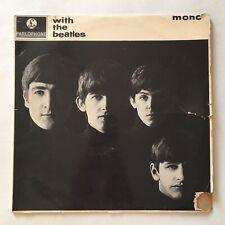The Beatles With the Beatles Mono Vinyl LP Parlophone PMC 1206 (XEX.448) - 1963