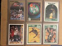 🏀💥🔥NBA 1989-90 Hoops+ UD + Skybox (6) Card Lot - Boston Celtics - Mint