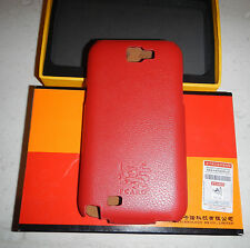 NIB PCaro N7100 European Jazz Galaxy Note 2 Genuine Leather Cell Phone Flip Case