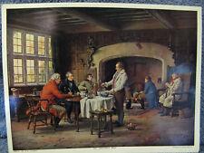 The Landlord's Brew-Men Socializing Print- Margaret Dovaston- Great Britain
