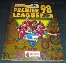 MERLIN 1998 STICKER COLLECTION ALBUM-100% COMPLETE-IMMACULATE CONDITION