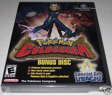 Pokemon Colosseum Bonus Disc (Nintendo, GameCube) -SeALED! y-folds!