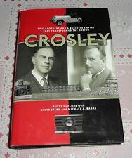 CROSLEY - Business Empire, Cincinnati Reds Owners, Automobile - Signed HC Book