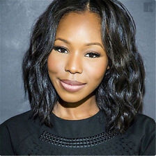 100% remy human hair Short Body Wave Bob Fashion full lace wigs/lace front wig