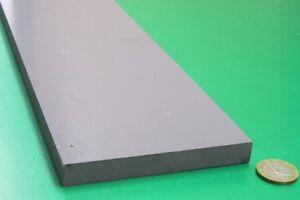 """CPVC Bar, Gray, .500"""" (1/2"""") Thick x 4.0"""" Wide x 48 Length"""