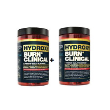 BSC Hydroxy Burn Clinical 60Tablets 30serve Reduce Cortisol Fat Burner double X2