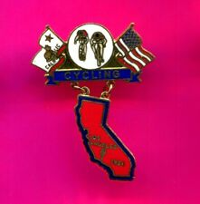 1984 OLYMPIC PIN CYCLING PIN DANGLER PIN LIMITED EDITION PIN