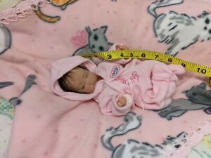 SOLID SILICONE Baby GIRL Micro preemie 8 1/2 half inch  Little Hope #11