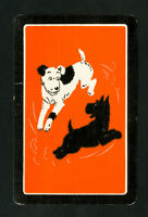 US VF Playing Dogs Art Deco Playing Cards, 1932