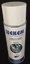 Wekem Chrom Alu Spray WS-83  Hitzebeständig 800°C 400ml Auspufflack