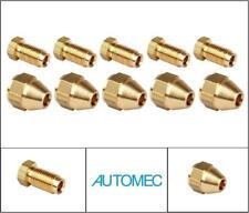 "AUTOMEC Brake Pipe Brass Union Fittings Male and Female 3/8"" UNF x 24tpi ( 10 )"