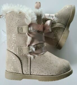 Koala Kids Toddler Girl Sparkle Boots Sz. 5 Nwot