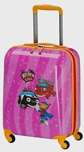 Travelite Helden der Stadt 4w 4 Rad Kinder Trolley Koffer S 47 cm Pink