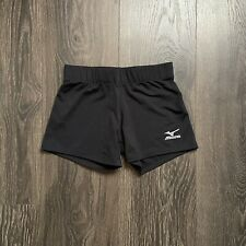 Mizuno Black Spandex Volleyball Shorts Size Small