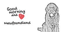 """Neufundländer- ein Becher """"Good Morning and love"""" Subli Dog, CH"""