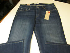 LEVI 518 SUPERLOW WHISKERED BOOTCUT JEANS JR SZ 15 M NWT