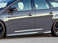 Cup retrasadas faldones sideskirts ABS para Ford Focus ST torneo dyb