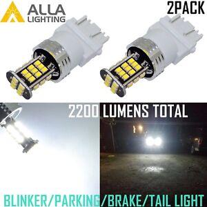 Alla Lighting LED Turn Signal Blinker/Parking/Brake/Tail Light Bulb Lamp,White