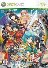Used Xbox 360 Sengoku Hime 2  MICROSOFT JAPAN JP JAPANESE JAPONAIS IMPORT