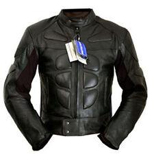 4limit Sports Motorradjacke Leder Streetbandit Biker Rocker schwarz Größe L