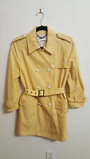 See By Chloe Yellow Cotton Trench Coat...6