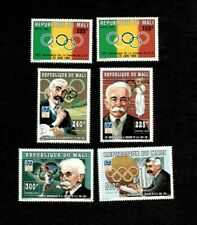 VINTAGE CLASSICS - Mali 1994 - Olympic Committee - Set of 6 Stamps - MNH