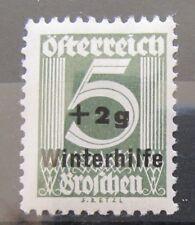 Österreich 1933 Freimarke Winterhilfe Mi.563 Postfrisch