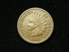 SUMMER SALE!! XF 1882 INDIAN HEAD CENT PENNY w/ DIAMONDS & FULL LIBERTY #134s