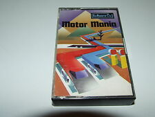 Motor Mania par audiogènes pour COMMODORE C64 COMPLET Nice!