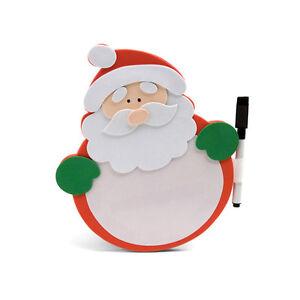 Christmas Santa Xmas Memo Pad Stationary Stickers Paper Sticky Notes Festive New