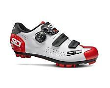 SIDI Trace 2 MTB Shoes - White/Black/Red [Size: 36~47 EUR]