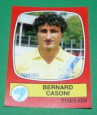 N°292 BERNARD CASONI SPORTING CLUB TOULON PANINI FOOTBALL 87 1986-1987