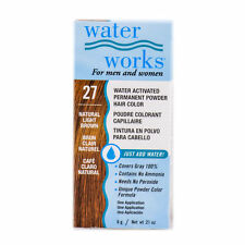 Water Works Permanent Powder Hair Color Light Brown