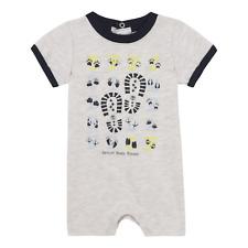 Timberland Baby Boy Short Romper Grey T97344 A10