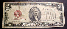 1928G TWO DOLLAR UNITED STATES RED SEAL NOTE.......MIN. BID .01 & NO RESERVE!