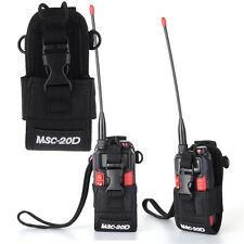 Walkie Talkie Radio Case Holster Msc-20d Nylon Bag For Motorola Kenwood Baofeng