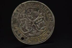 Salzburg Erzbistum: 1/2 Taler 1563 Johann Jokob Khuen von Belasi, 1560-1586 N77A