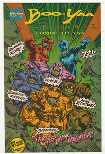 Boo-Yaa T.R.I.B.E Comin' To Yaa, Triple R Comics, Rock Rythm Rap, 1990 NM/M  r