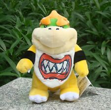 "Nintendo Standing Bowser Jr. 8"" Super Mario Bros Run Plush Toy Fine Lovely Doll"
