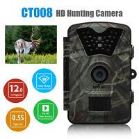Wildlife Trail Photo Trap Hunting Camera 12MP 1080P 940NM Video Recorder Cameras