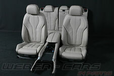 BMW X6 F16 Individual Austattung Sitze Lederausstattung leather sport seats