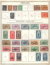 French Congo Collection from Minkus Global Album Much Unused