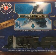 Lionel POLAR EXPRESS Ready To Play Train Set 7-11803 w/Extra Track