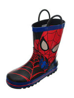 Spider-Man Boys' Rubber Rain Boots (Sizes 7 - 12)